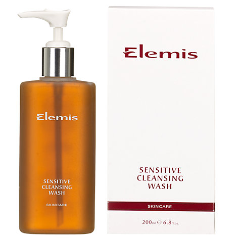 Buy Elemis Skincare Sensitive Cleansing Wash Online at johnlewis.com
