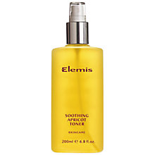 Buy Elemis Skincare Soothing Apricot Toner Online at johnlewis.com