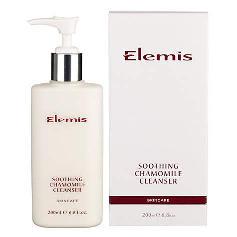 Buy Elemis Skincare Soothing Chamomile Cleanser Online at johnlewis.com