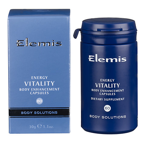 Buy Elemis Energy Vitality, 60 Capsules Online at johnlewis.com