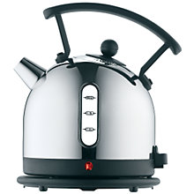 Buy Dualit Dome Kettle and NewGen Toaster, 4-Slice, Black Online at johnlewis.com