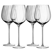 Buy LSA Aurelia Red Wine Glasses, 0.66L, Set of 4 Online at johnlewis.com