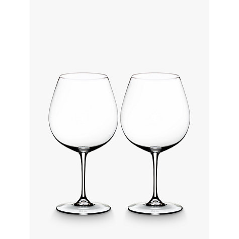 Buy Riedel Vinum Wine Glass, Set of 2 Online at johnlewis.com