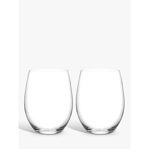 "Buy Riedel ""O"" Stemless Cabernet/Merlot Glasses, 0.6L, Set of 2 Online at johnlewis.com"
