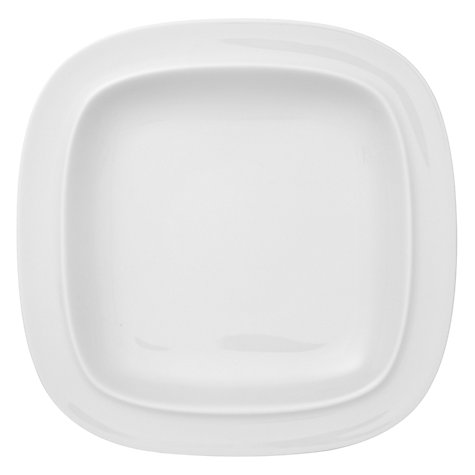 Buy Denby White Squares Tea Plate Online at johnlewis.com