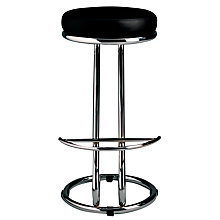 Buy John Lewis Z Bar Stool, Black Online at johnlewis.com