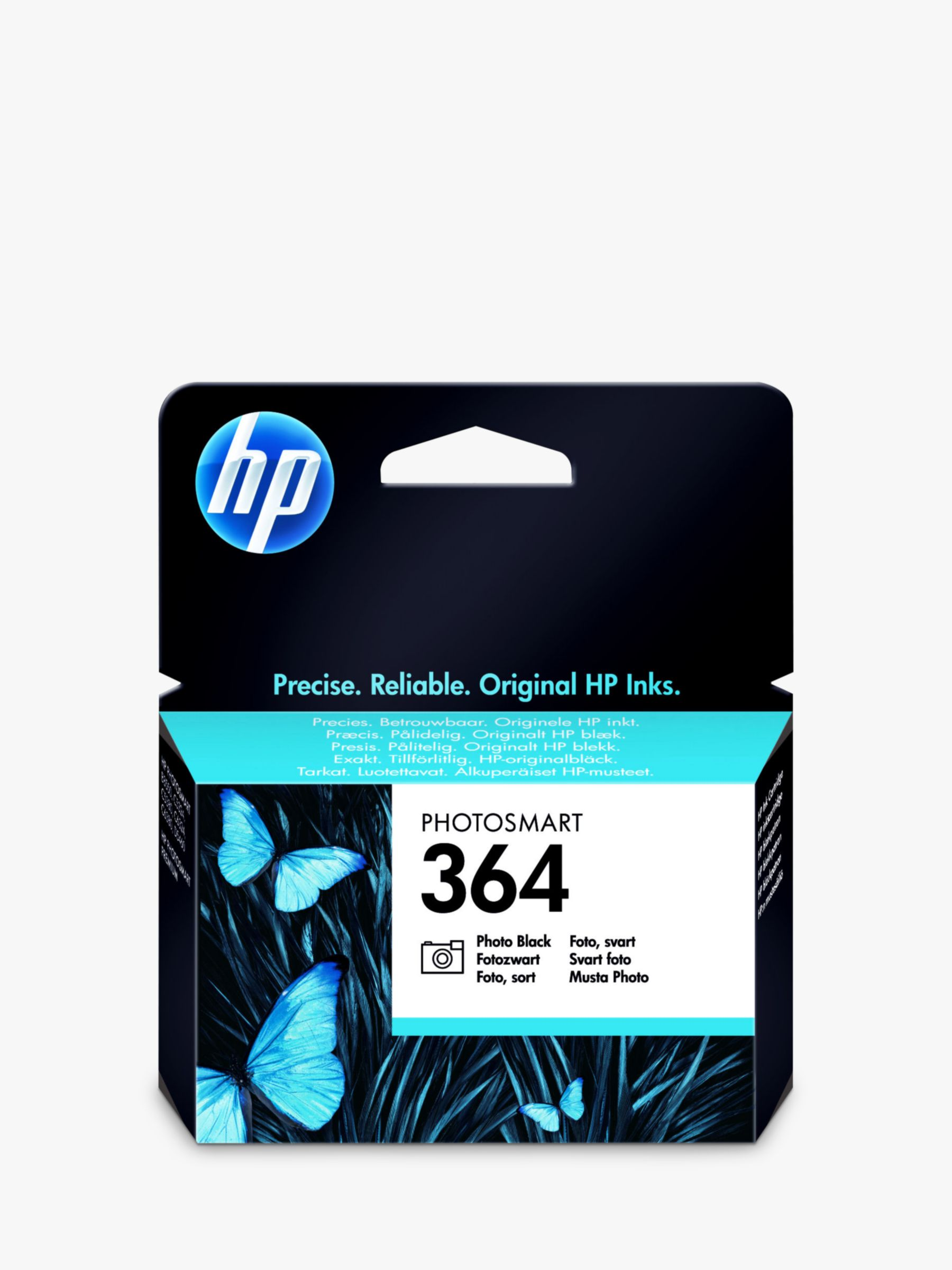 364 Photo Printer Cartridge, Photo Black,