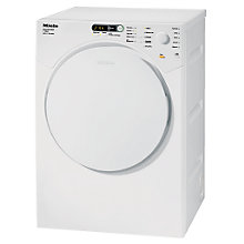 Buy Miele T7634 Vented Tumble Dryer, 6kg Load, C Energy Rating, White Online at johnlewis.com