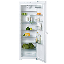 Buy Miele K12820SD Tall Larder Fridge, A+ Energy Rating, 60cm Wide, White Online at johnlewis.com