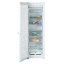 Buy Miele FN12827S Freezer, A+ Energy Rating, 60cm Wide, White Online at johnlewis.com