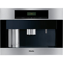 Buy Miele CVA5060 Built-in Bean-to-Cup Coffee Machine, Stainless Steel Online at johnlewis.com