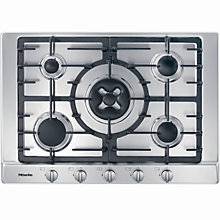 Buy Miele KM2034 Gas Hob, Stainless Steel Online at johnlewis.com