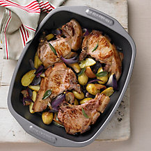 Pork Chops with Apple by Meyer