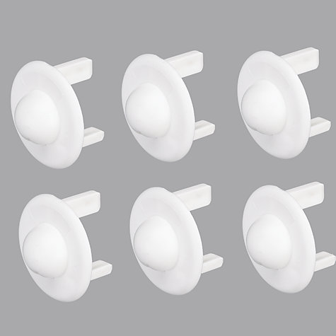 Buy John Lewis Baby Socket Inserts, Pack of 6 Online at johnlewis.com