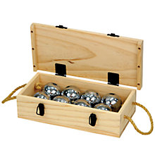 Buy Jaques Chrome Steel 8 Boules Set Online at johnlewis.com