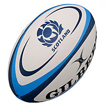 Buy Gilbert Scotland Official Replica Rugby Ball, Size 5 Online at johnlewis.com