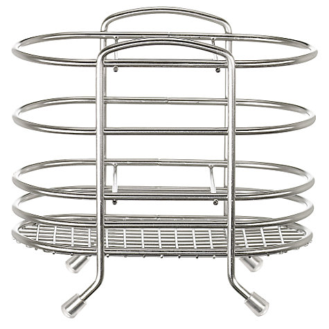 Buy John Lewis Cutlery Basket, Stainless Steel Online at johnlewis.com