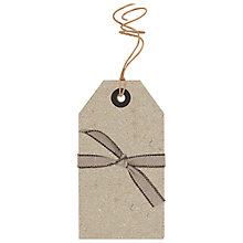 Buy East of India Natural Gift Tags, Set of 6 Online at johnlewis.com