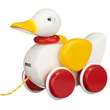 Buy Brio Pull Along Duck Online at johnlewis.com