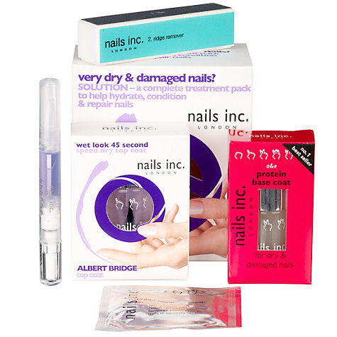 Buy Nails Inc Treatment Pack 3 - For Dry/Damaged Nails Online at johnlewis.com