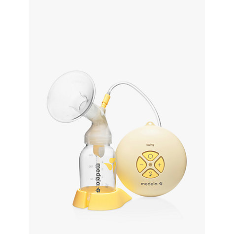 Buy Medela Swing Breast Pump with Calma Teat Online at johnlewis.com