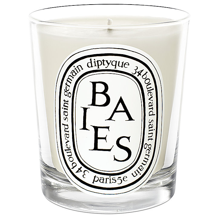 Diptyque Baies Scented Candle (£35)