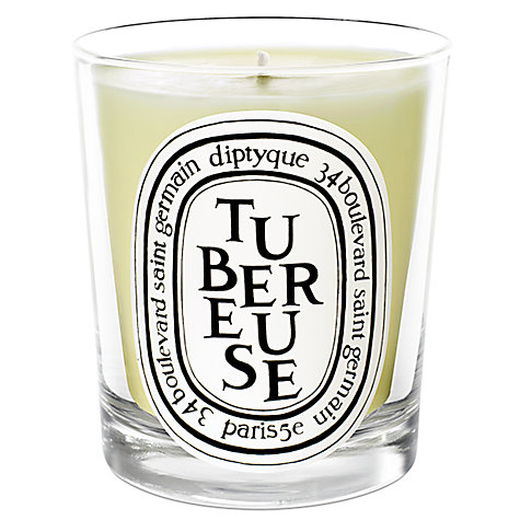 Buy Diptyque Tubereuse Scented Candle, 190g Online at johnlewis.com