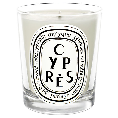 Buy Diptyque Cyprès Scented Candle, 190g Online at johnlewis.com