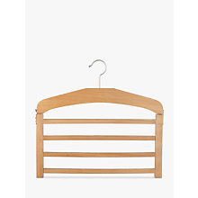 Buy John Lewis 4 Bar Trouser Hanger, FSC-certified (Beech) Online at johnlewis.com