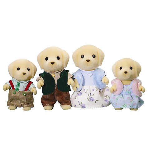 Buy Sylvanian Families Golden Labrador Family Online at johnlewis.com