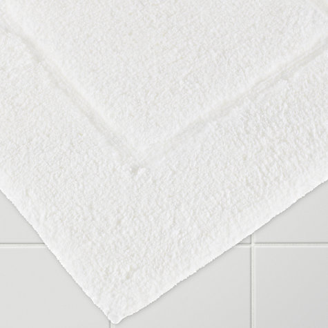 Buy John Lewis Egyptian Cotton Deep Pile Bath Mat, Extra Large Online at johnlewis.com