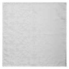 Buy John Lewis Regency Damask Napkin, White Online at johnlewis.com