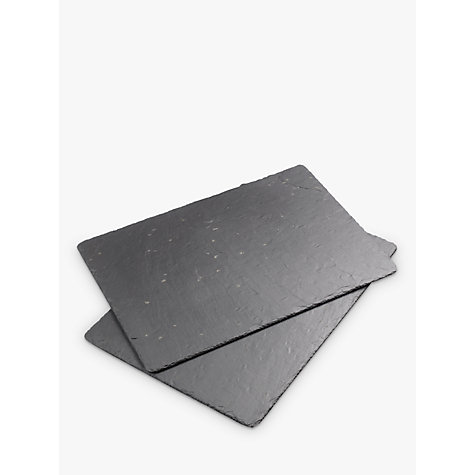 Buy Just Slate Trivets, Set of 2 Online at johnlewis.com
