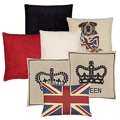 Buy John Lewis Hampton Union Jack Cushion Online at johnlewis.com