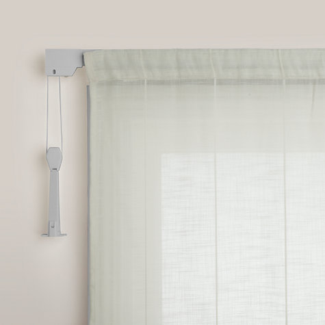 Buy John Lewis Aluminium Corded Curtain Tracks Online at johnlewis.com