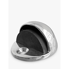 Buy John Lewis Doorstop, Chrome, Dia.46mm Online at johnlewis.com