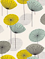 Sanderson Dandelion Clocks Wallpaper, DOPWDA104, Chaffinch