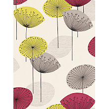 Buy Sanderson Dandelion Clocks Wallpaper, DOPWDA102, Blackcurrant Online at johnlewis.com
