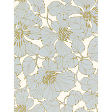 Buy Harlequin Wallpaper, Passion 30720, Duck Egg / Cream / Gold Online at johnlewis.com