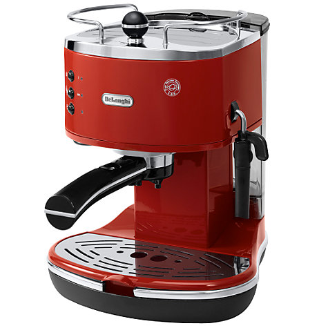 Buy De'Longhi ECO310.R Icona Espresso Coffee Machine, Red Online at johnlewis.com