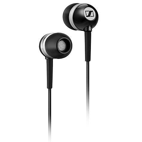 Buy Sennheiser CX300-II Precision In-Ear Headphones, Black Online at johnlewis.com