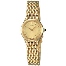 Buy Seiko SUJ250 Ladies Bracelet Dress Watch Online at johnlewis.com