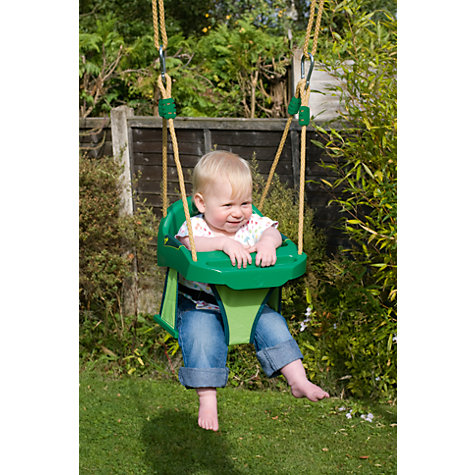 Buy TP998 Junior Swing Seat, Green Online at johnlewis.com