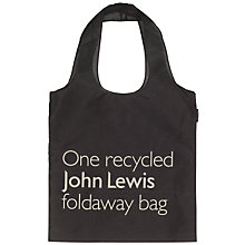 Buy John Lewis Recycled Foldaway Bag Online at johnlewis.com
