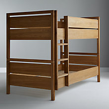 Buy John Lewis Fairford Children's Bunk Bed, Oak Online at johnlewis.com
