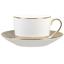 Buy Vera Wang for Wedgwood Gilded Weave Saucer Online at johnlewis.com