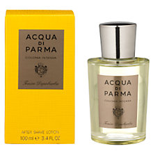 Buy Acqua di Parma Colonia Intensa After Shave Lotion Online at johnlewis.com