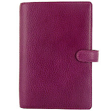 Buy Filofax Finsbury Personal Organiser, Raspberry Online at johnlewis.com