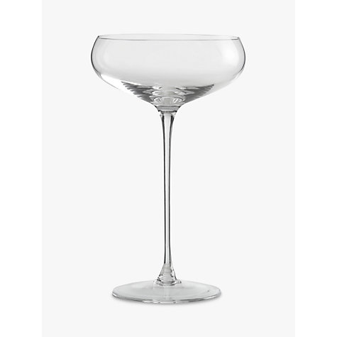 Buy LSA Bar Collection Champagne Saucers, Set of 4 Online at johnlewis.com