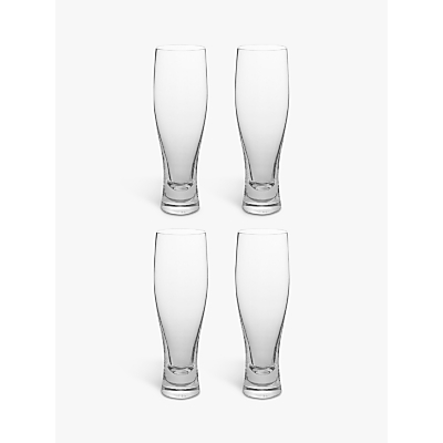 LSA International Bar Collection Beer Glasses, Box of 4